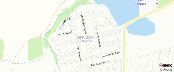Улица Муртазина на карте Сибая с номерами домов