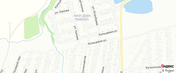 Кольцевая улица на карте Сибая с номерами домов