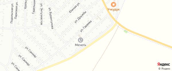 Акъярская улица на карте Сибая с номерами домов