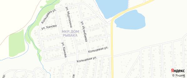 Дорожный переулок на карте Сибая с номерами домов