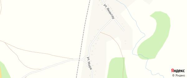 Улица Мира на карте деревни Муракаево с номерами домов