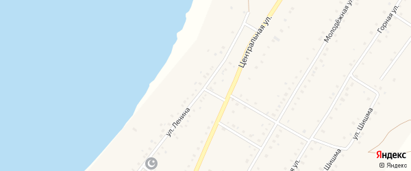 Улица Ленина на карте села Ташбулатово с номерами домов