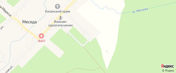 Курмышенская улица на карте села Меседы с номерами домов