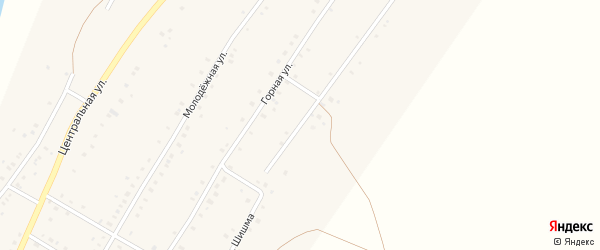 Улица Шишма на карте села Ташбулатово с номерами домов