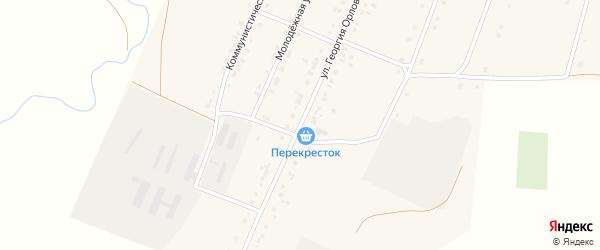 Улица Георгия Орлова на карте села Михайловки с номерами домов