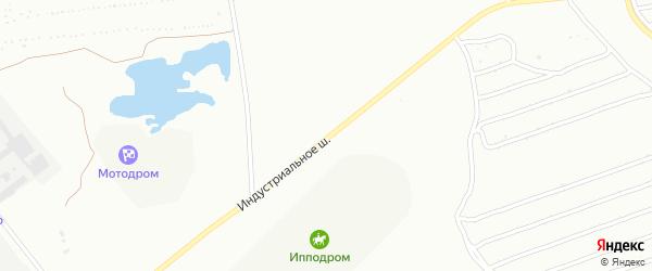 Индустриальное шоссе на карте Сибая с номерами домов