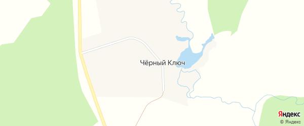 Центральная улица на карте села Черного Ключа с номерами домов