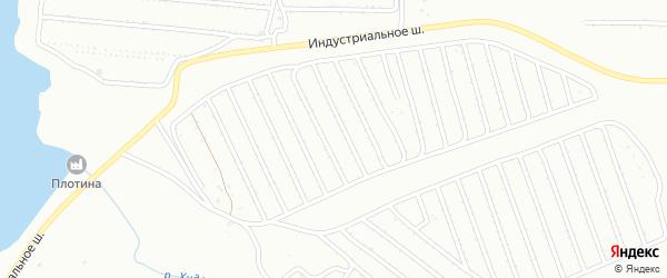 13-й сад на карте Сибая с номерами домов