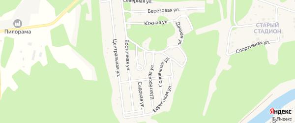ГСК Горняк на карте Сатки с номерами домов