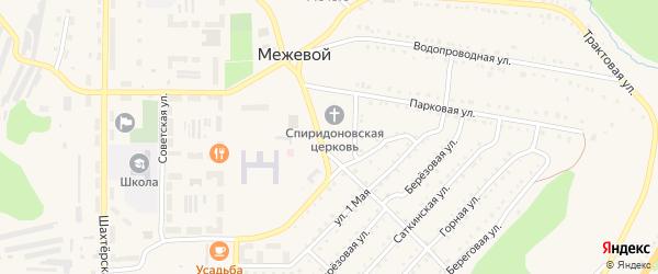 Сад Цепиловка СНТ на карте Межевого поселка с номерами домов