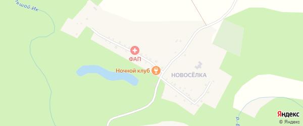 Мечетлинская улица на карте деревни Айгырьяла с номерами домов
