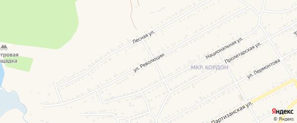 Улица Революции на карте Бакала с номерами домов