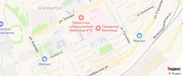 Улица 50 лет ВЛКСМ на карте Бакала с номерами домов