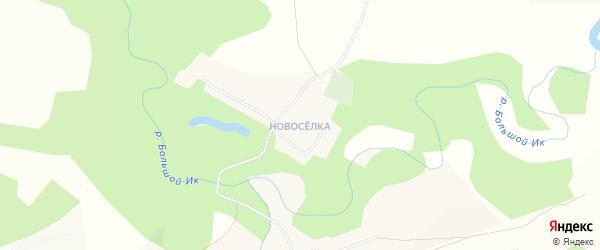 Карта деревни Айгырьяла в Башкортостане с улицами и номерами домов