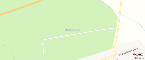 Сад Черемушки СНТ (Дачная) на карте Бакала с номерами домов