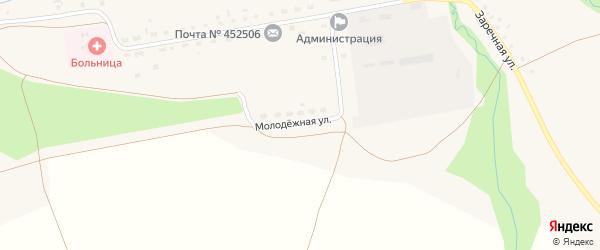 Молодежная улица на карте села Леузы с номерами домов