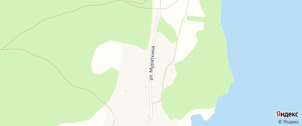 Улица Мураткина на карте деревни Узунгулово с номерами домов