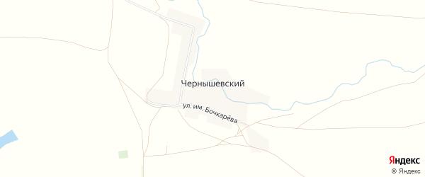 Карта Чернышевского поселка в Челябинской области с улицами и номерами домов