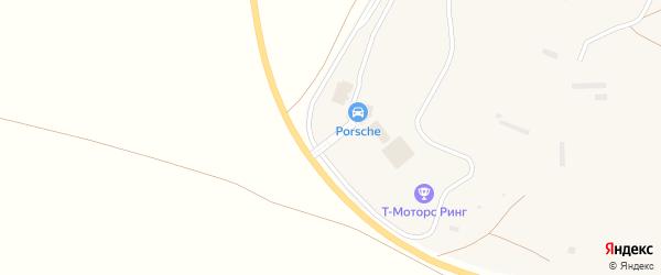 Придорожная улица на карте Смеловского поселка с номерами домов