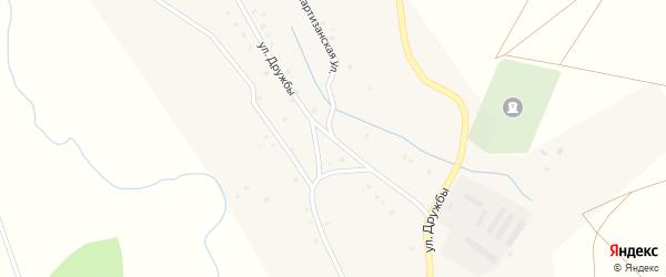 Улица Дружбы на карте села Баимово с номерами домов