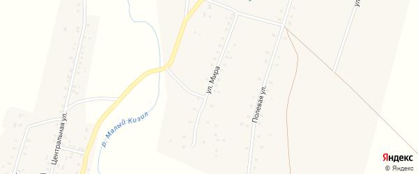 Улица Мира на карте села Баимово с номерами домов