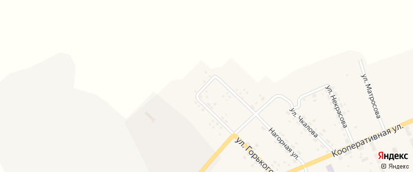 Улица Чехова на карте поселка Иркускана с номерами домов