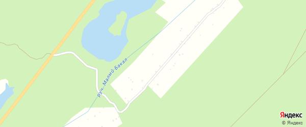 Сад Шахтер-1 СНТ на карте Бакала с номерами домов