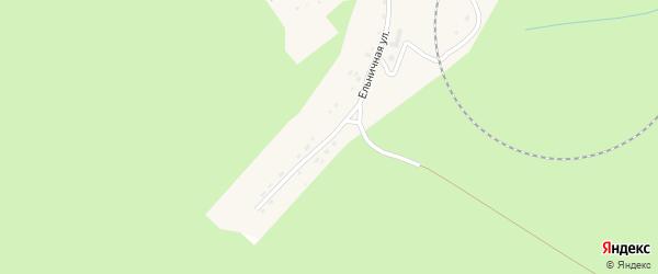 Ельничная улица на карте Ельничного поселка с номерами домов
