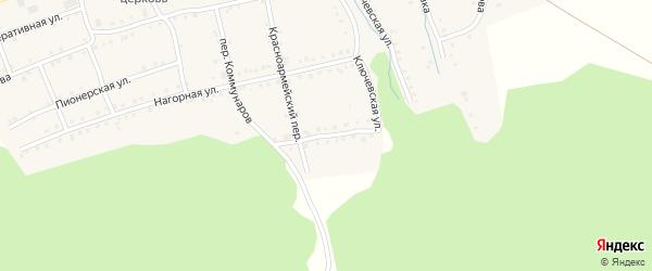 Улица 8 Марта на карте поселка Сулеи с номерами домов
