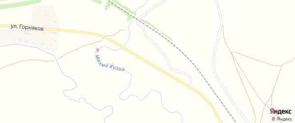 СНТ Газовик на карте Смеловской станции с номерами домов