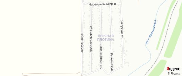 Добросельская улица на карте Магнитогорска с номерами домов