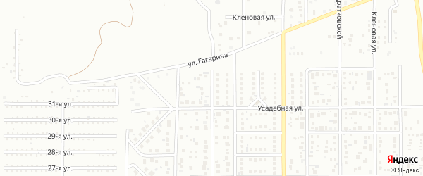 Улица Наумкина на карте Магнитогорска с номерами домов