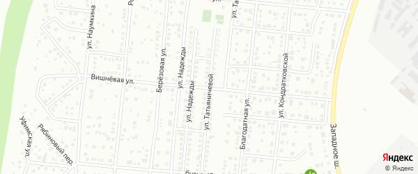 Вишневая улица на карте Магнитогорска с номерами домов
