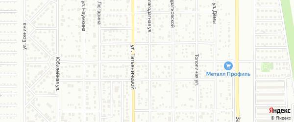 Привольная улица на карте Магнитогорска с номерами домов