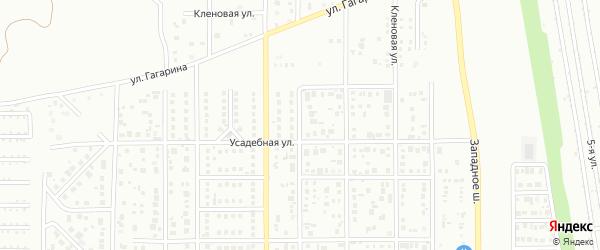 Благодатная улица на карте Магнитогорска с номерами домов