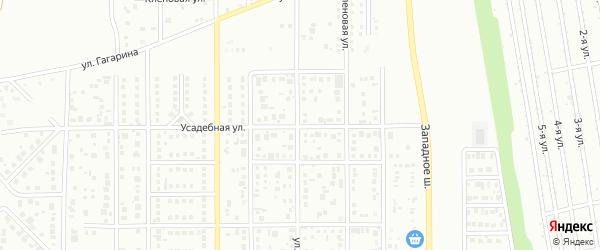 Улица Кондратковской на карте Магнитогорска с номерами домов