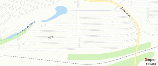 Территория ГСК Строитель-2 на карте Магнитогорска с номерами домов