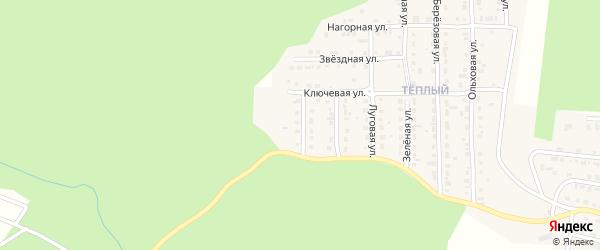 Родниковый переулок на карте Сатки с номерами домов