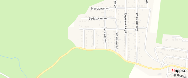 Широкий переулок на карте Сатки с номерами домов