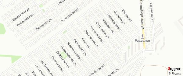 Ольховская улица на карте Магнитогорска с номерами домов