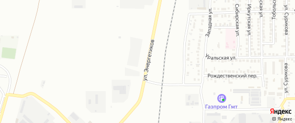 Улица Энергетиков на карте Магнитогорска с номерами домов