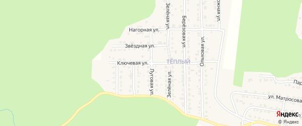 Луговая улица на карте Сатки с номерами домов