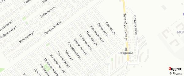 Медовая улица на карте Магнитогорска с номерами домов