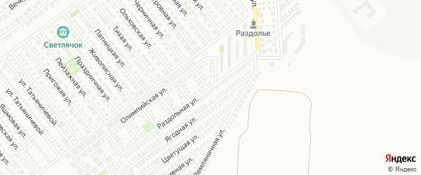 Раздольная улица на карте Магнитогорска с номерами домов