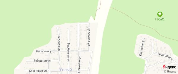 Дорожная улица на карте Сатки с номерами домов
