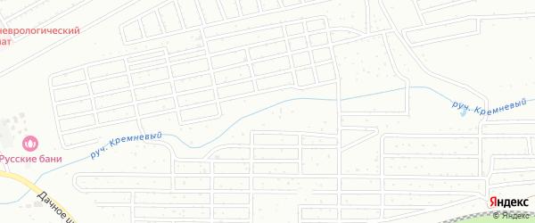 Территория ГСК Метизник на карте Магнитогорска с номерами домов