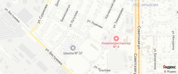 Улица Болотникова на карте Магнитогорска с номерами домов