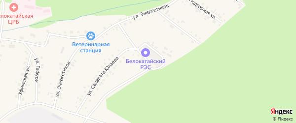 Улица Подстанция на карте села Новобелокатая с номерами домов