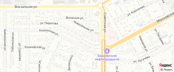 Кедровый проезд на карте Магнитогорска с номерами домов