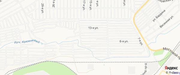 ГСК ПКГ Машиностроитель на карте Магнитогорска с номерами домов